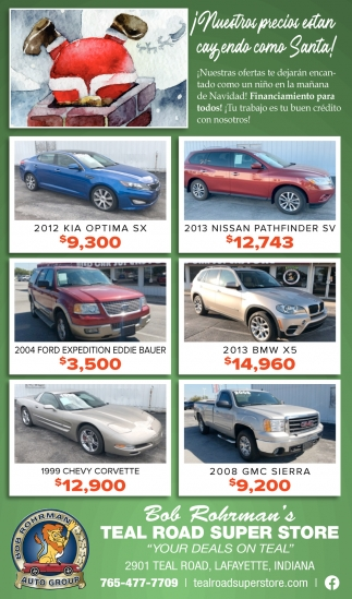 Your Deals on Teal