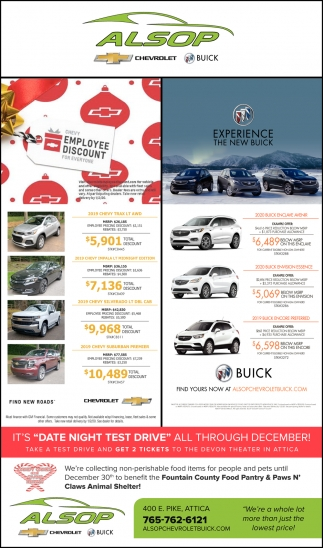 Experience the New Buick