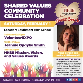 Shared Values Community Celebration