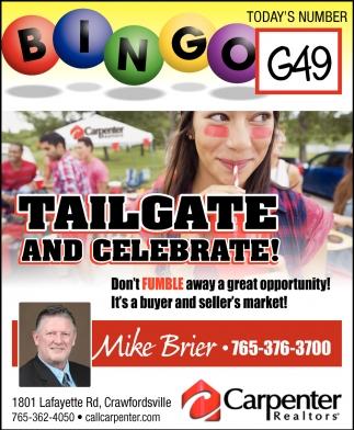 Tailgate & Celebrate!
