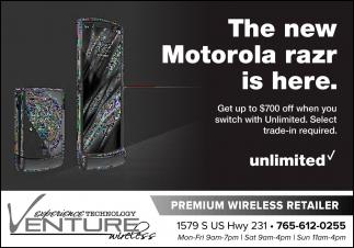 The New Motorola Razr is Here