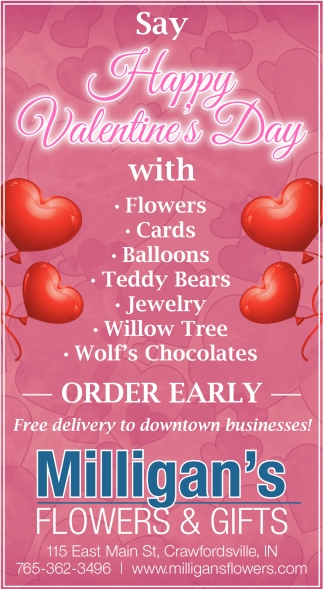 FREE Delivery to Downtown Businesses!