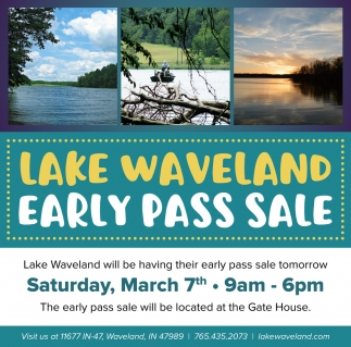 Early Pass Sale