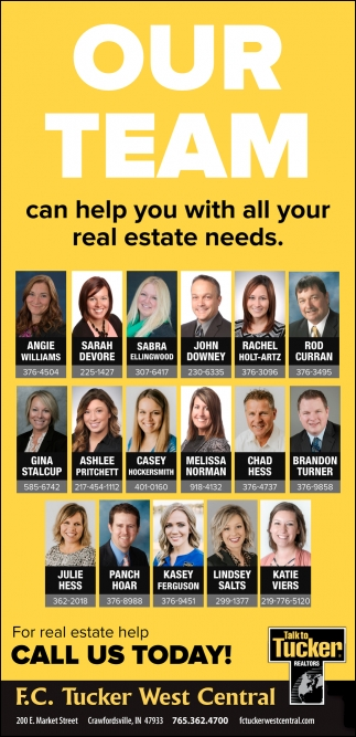 Our Team Can Help You with All Your Real Estate Needs
