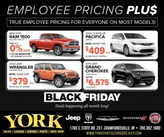 Employee Pricing Plu$