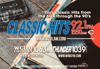 Your Classic Hits from the 60's Through the 90's