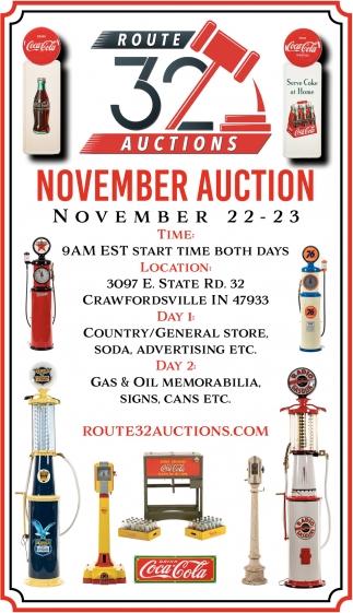 November Auction