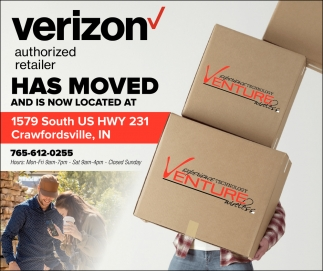 Verizon Authorized Retailer has Moved